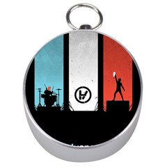 Twenty One 21 Pilots Silver Compasses by Onesevenart