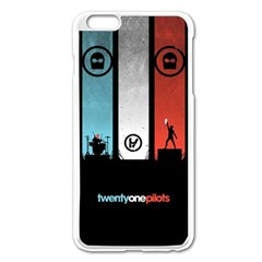 Twenty One 21 Pilots Apple Iphone 6 Plus/6s Plus Enamel White Case by Onesevenart