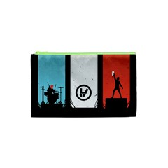 Twenty One 21 Pilots Cosmetic Bag (xs) by Onesevenart