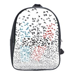 Twenty One Pilots Birds School Bags(large)  by Onesevenart