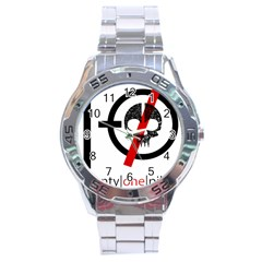 Twenty One Pilots Skull Stainless Steel Analogue Watch by Onesevenart