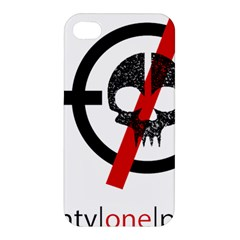 Twenty One Pilots Skull Apple Iphone 4/4s Premium Hardshell Case by Onesevenart