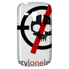 Twenty One Pilots Skull Galaxy S3 Mini by Onesevenart