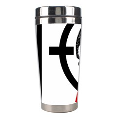 Twenty One Pilots Skull Stainless Steel Travel Tumblers by Onesevenart