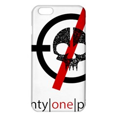 Twenty One Pilots Skull Iphone 6 Plus/6s Plus Tpu Case by Onesevenart