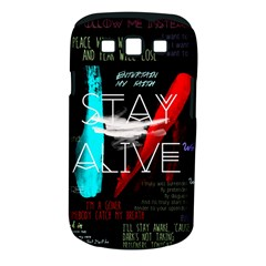 Twenty One Pilots Stay Alive Song Lyrics Quotes Samsung Galaxy S Iii Classic Hardshell Case (pc+silicone) by Onesevenart
