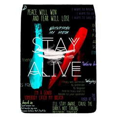 Twenty One Pilots Stay Alive Song Lyrics Quotes Flap Covers (s)  by Onesevenart