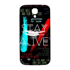 Twenty One Pilots Stay Alive Song Lyrics Quotes Samsung Galaxy S4 I9500/i9505  Hardshell Back Case by Onesevenart