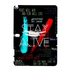 Twenty One Pilots Stay Alive Song Lyrics Quotes Galaxy Note 1 by Onesevenart