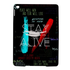 Twenty One Pilots Stay Alive Song Lyrics Quotes Ipad Air 2 Hardshell Cases by Onesevenart