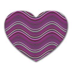 Abstraction Heart Mousepads by Valentinaart