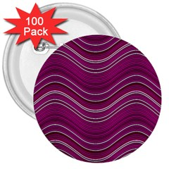 Abstraction 3  Buttons (100 Pack)  by Valentinaart