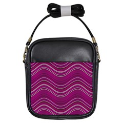 Abstraction Girls Sling Bags by Valentinaart
