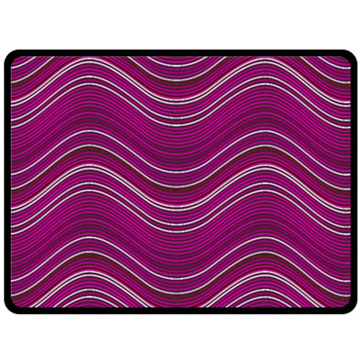 Abstraction Double Sided Fleece Blanket (Large)