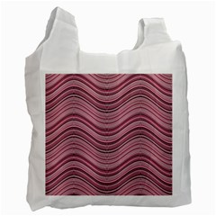 Abstraction Recycle Bag (one Side) by Valentinaart