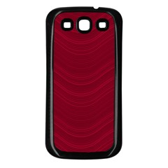 Abstraction Samsung Galaxy S3 Back Case (black) by Valentinaart