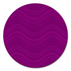 Abstraction Magnet 5  (round) by Valentinaart