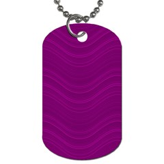 Abstraction Dog Tag (one Side) by Valentinaart