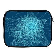 Shattered Glass Apple Ipad 2/3/4 Zipper Cases by linceazul