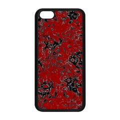 Abstraction Apple Iphone 5c Seamless Case (black) by Valentinaart