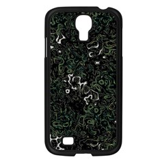 Abstraction Samsung Galaxy S4 I9500/ I9505 Case (black) by Valentinaart