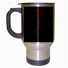 Abstraction Travel Mug (silver Gray) by Valentinaart