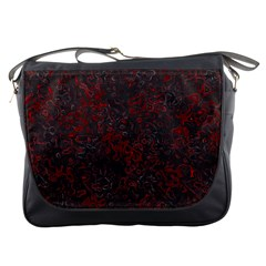 Abstraction Messenger Bags by Valentinaart