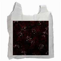 Abstraction Recycle Bag (two Side)  by Valentinaart