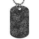 Abstraction Dog Tag (Two Sides) Back