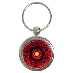 The Sun Is The Center Key Chains (round)  by linceazul