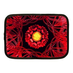 The Sun Is The Center Netbook Case (medium)  by linceazul