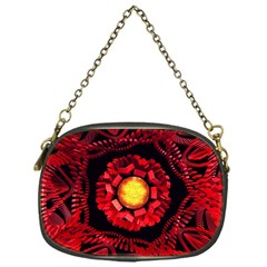 The Sun Is The Center Chain Purses (one Side)  by linceazul