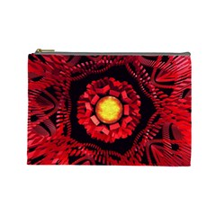 The Sun Is The Center Cosmetic Bag (large)  by linceazul