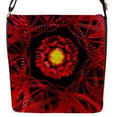 The Sun Is The Center Flap Messenger Bag (s) by linceazul