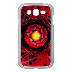 The Sun Is The Center Samsung Galaxy Grand Duos I9082 Case (white) by linceazul