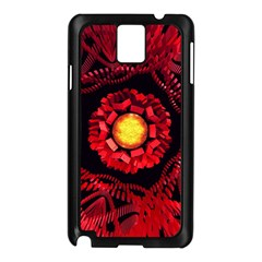 The Sun Is The Center Samsung Galaxy Note 3 N9005 Case (black) by linceazul