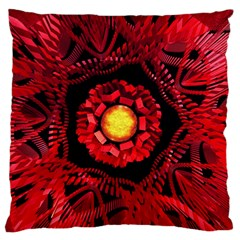 The Sun Is The Center Standard Flano Cushion Case (one Side) by linceazul