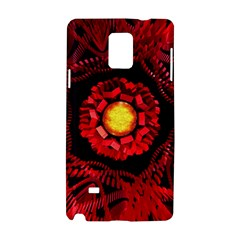 The Sun Is The Center Samsung Galaxy Note 4 Hardshell Case by linceazul
