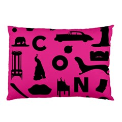Car Plan Pinkcover Outside Pillow Case by Mariart