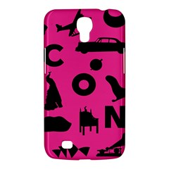 Car Plan Pinkcover Outside Samsung Galaxy Mega 6 3  I9200 Hardshell Case by Mariart