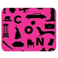 Car Plan Pinkcover Outside Double Sided Flano Blanket (medium)  by Mariart