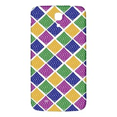 African Illutrations Plaid Color Rainbow Blue Green Yellow Purple White Line Chevron Wave Polkadot Samsung Galaxy Mega I9200 Hardshell Back Case