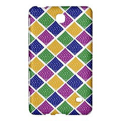 African Illutrations Plaid Color Rainbow Blue Green Yellow Purple White Line Chevron Wave Polkadot Samsung Galaxy Tab 4 (8 ) Hardshell Case  by Mariart