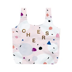 Cheers Polkadot Circle Color Rainbow Full Print Recycle Bags (m)  by Mariart