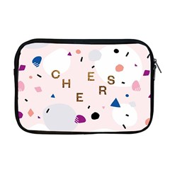 Cheers Polkadot Circle Color Rainbow Apple Macbook Pro 17  Zipper Case by Mariart