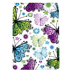 Butterfly Animals Fly Purple Green Blue Polkadot Flower Floral Star Flap Covers (s)  by Mariart
