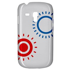 Color Light Effect Control Mode Circle Red Blue Galaxy S3 Mini by Mariart