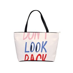 Don t Look Back Big Eye Pink Red Blue Sexy Shoulder Handbags by Mariart