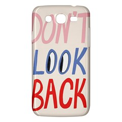Don t Look Back Big Eye Pink Red Blue Sexy Samsung Galaxy Mega 5 8 I9152 Hardshell Case  by Mariart
