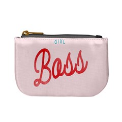 Girl Boss Pink Red Blue Sexy Mini Coin Purses by Mariart